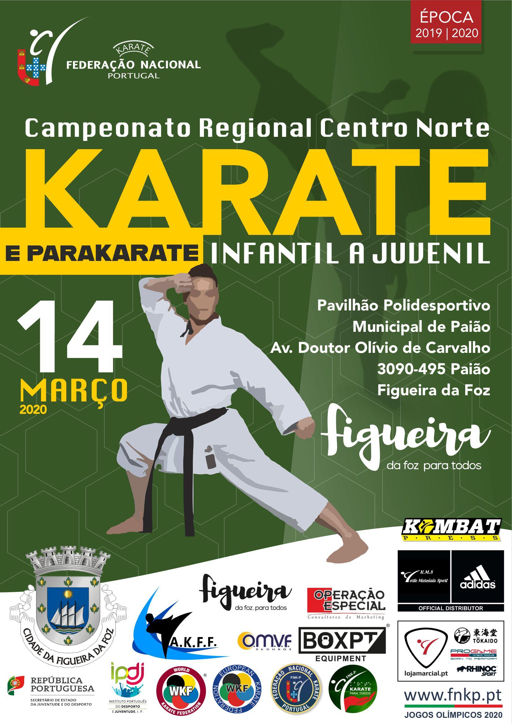 Campeonato Regionais Infantis a Juvenis Centro Norte (2019/2020)