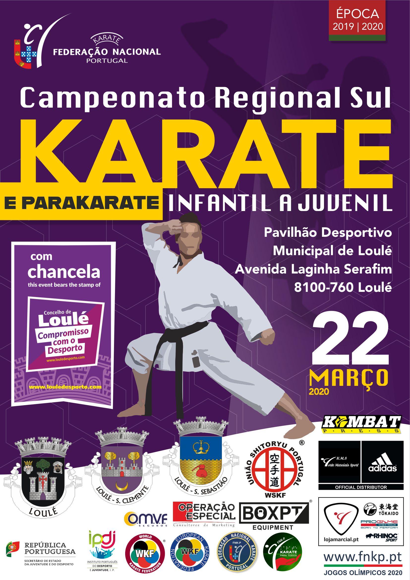 Campeonato Regionais Infantis a Juvenis Sul (2019/2020)
